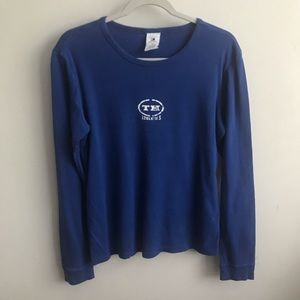 Tommy Hilfiger Blue Long Sleeve Shirt L/G
